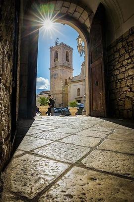 Portico a PALAZZO ADRIANO