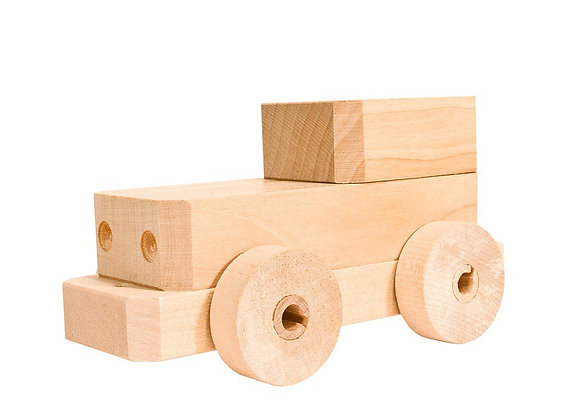 Magic car wooden toy