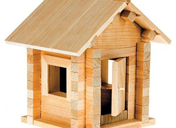 Shack wooden building blocks