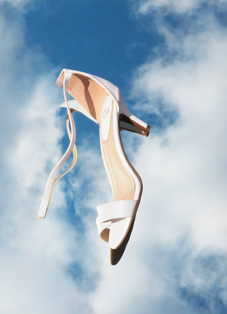 creative shoe photography
