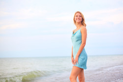 Leanna's Lens   Senior photography in front of Lake Erie