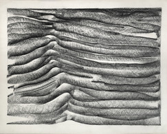 Untitled (Earth Charcoal Drawing)