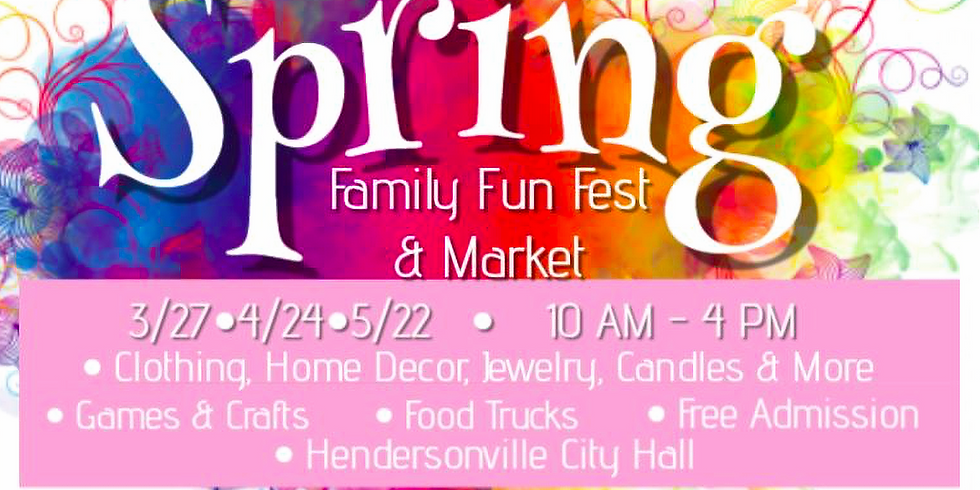 Spring Family Fun Fest and Market