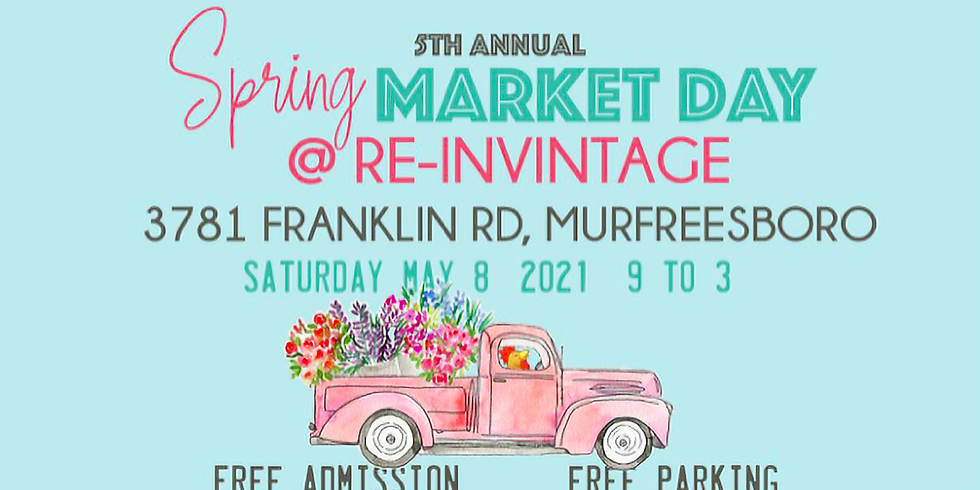 5th Annual Spring Market Day