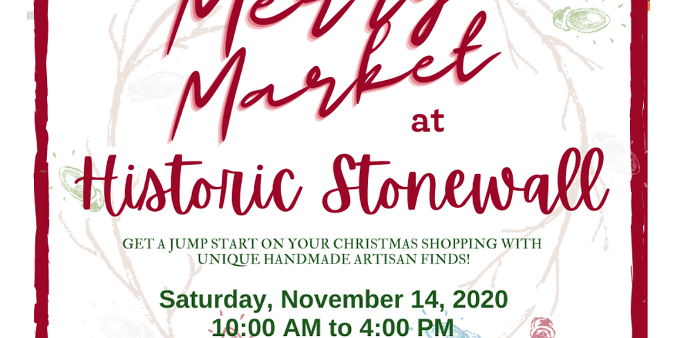 Merry Market Day at Historic Stonewall