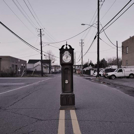 VOICES — 'Walking Around Town with a Grandfather Clock'