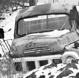 A truck in Salem, NY_