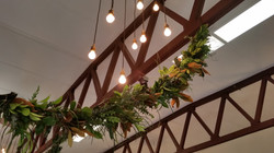 Fresh foliage garland