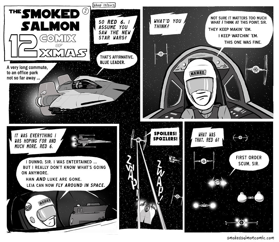 The Latest Smoked Salmon Webcomic!
