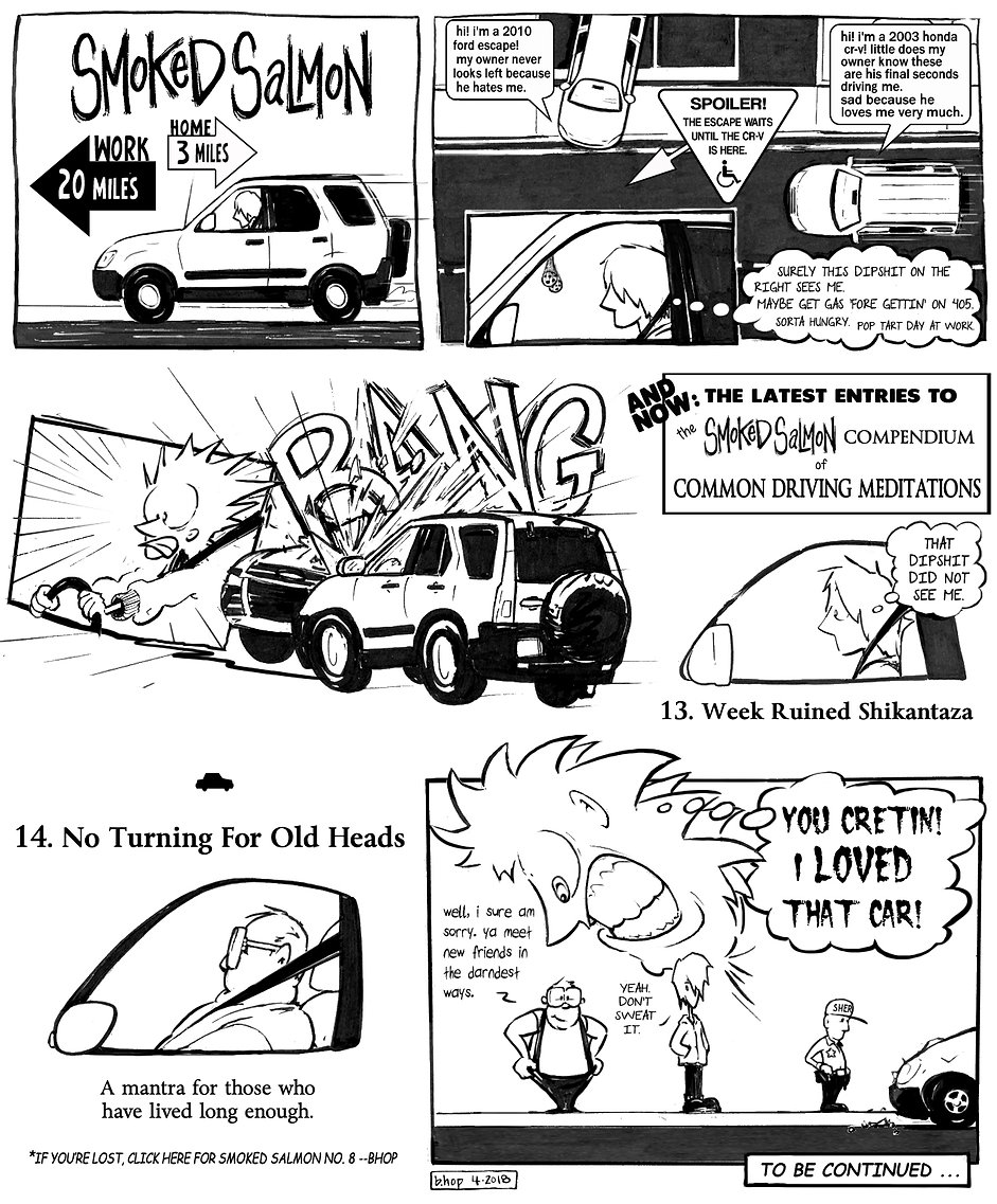 The Latest Smoked Salmon Webcomic!