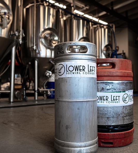 Lower Left Brewery Brew Keg