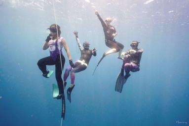 Line Diving