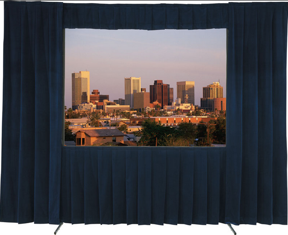 Fast Fold Screen with Drape Kits