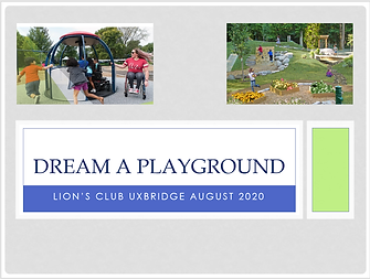 eBook about the new playground project