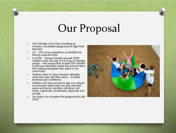 Playground with Proposal New for Website