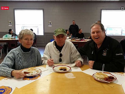 News 11 and Pancake Breakfast Pat Molloy