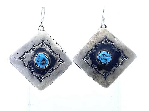 Southwestern dangle earrings