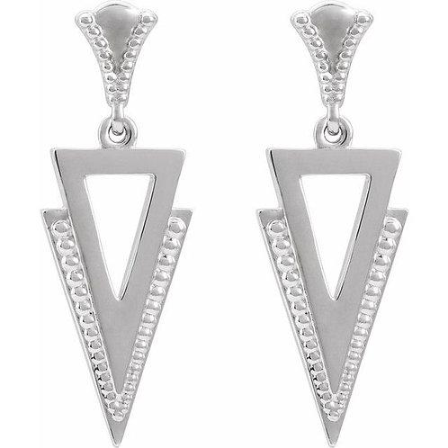 Geometric Dangle Earrings #87150