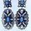 Thumbnail: Turquoise Concho Statment Earrings