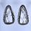 Thumbnail: White Buffalo earrings