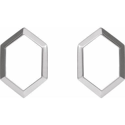 Geometric Drop Earrings #87020