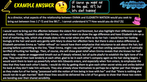 EXEMPLAR ANSWERS