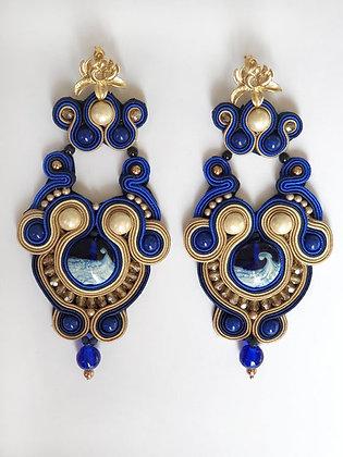Earrings Ocean