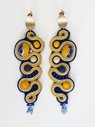 Boucles d'oreilles Sakana (Poisson)
