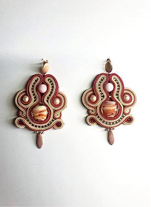 Boucles d'oreilles Hanami (Regarder les Fleurs)