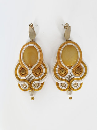 Earrings HIMAWARI (Sunflower)