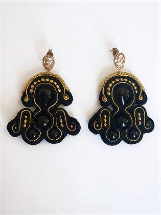 Boucles d'oreilles Casque d'or