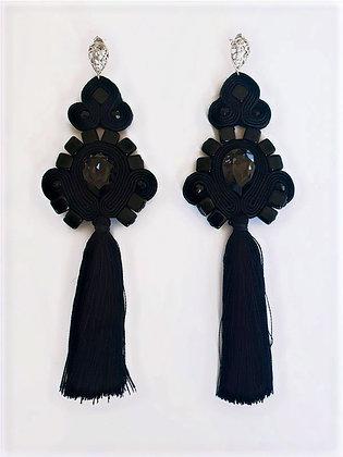 Boucles d'oreilles Blackarisaema