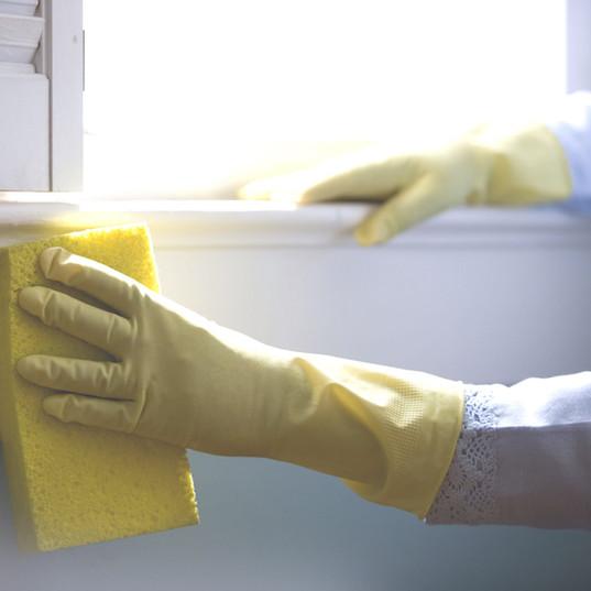 Fregar las paredes