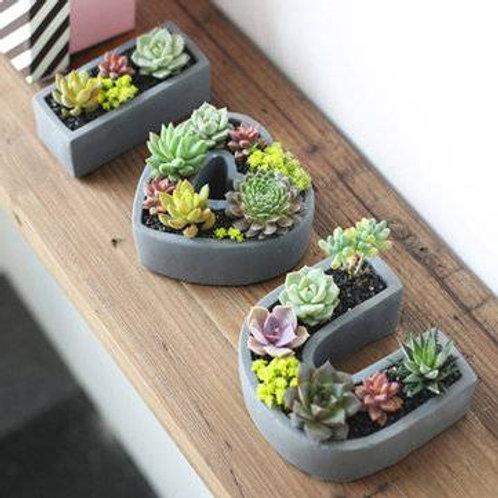 I ❤️ U - Planter Set
