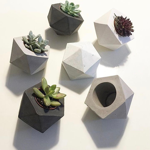 GEO Mini planters & Tealight candle