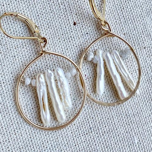 The Mina Earrings