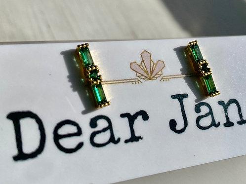 Emerald City Stud Earrings