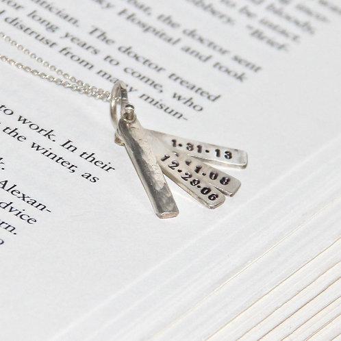 Hazel Custom Bar Necklace