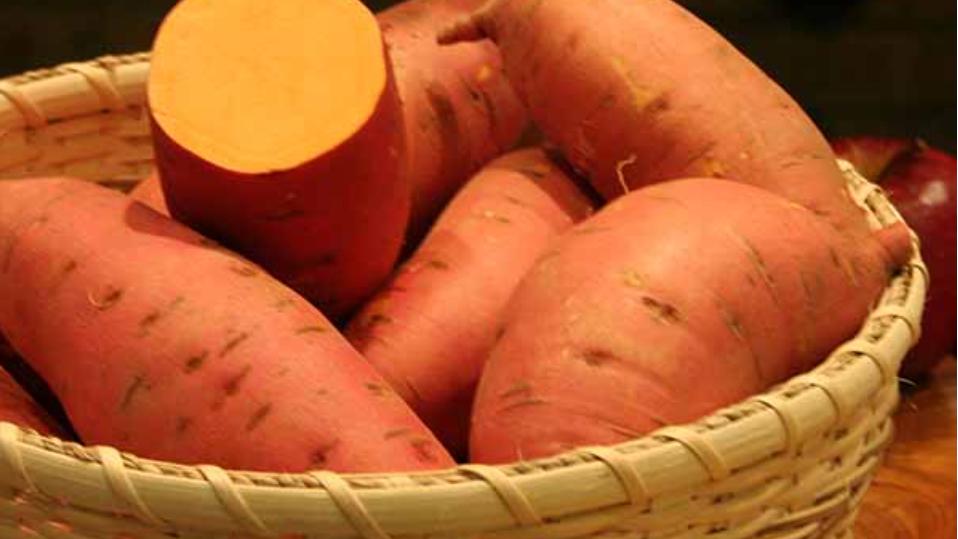 Potato Sweet Orange