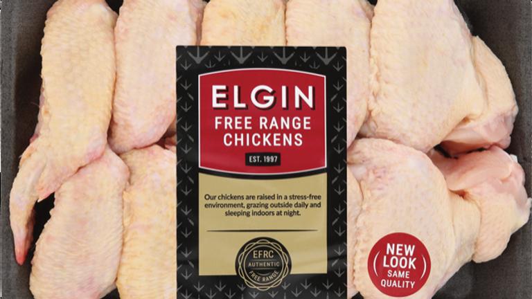 Elgin Free Range Chicken Wings