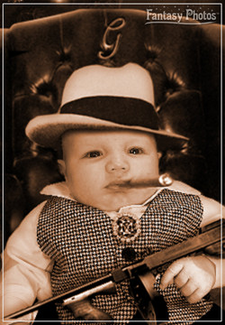 Fantasy Photos- Baby Mobster