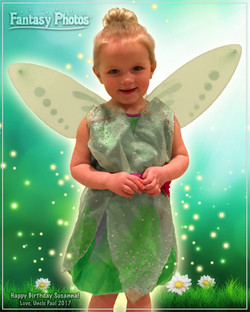 Fantasy Photos-Birthday Tinkerbell