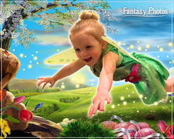 Fantasy Photos-Susanna 3rd Birthday Tinkerbell