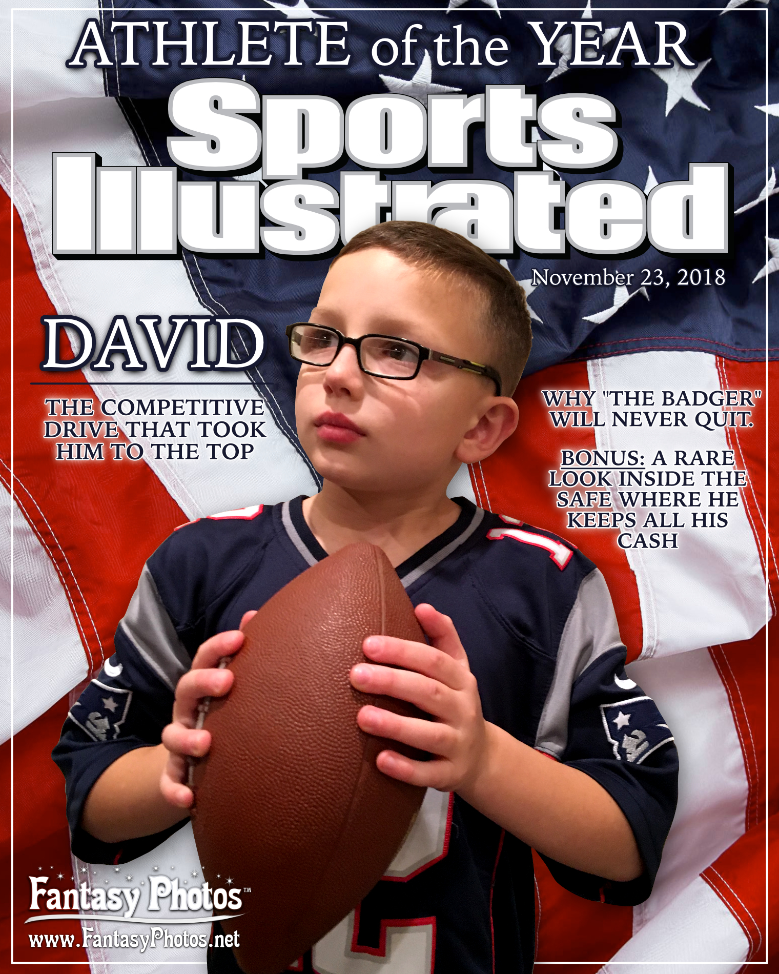 2018 David Birthday-Sports Illustrated-W