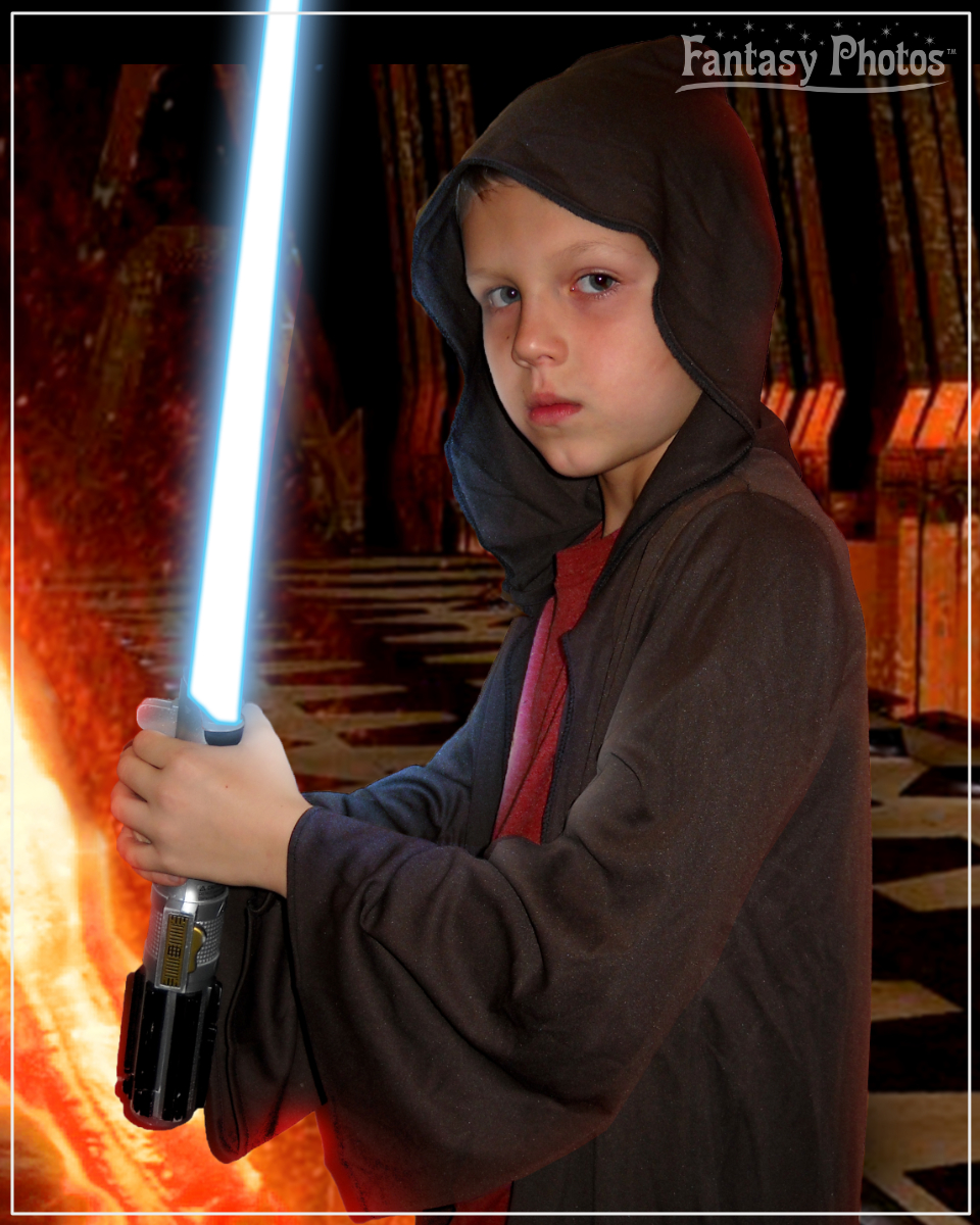 Fantasy Photos- Gregory 7th Birthday Jedi
