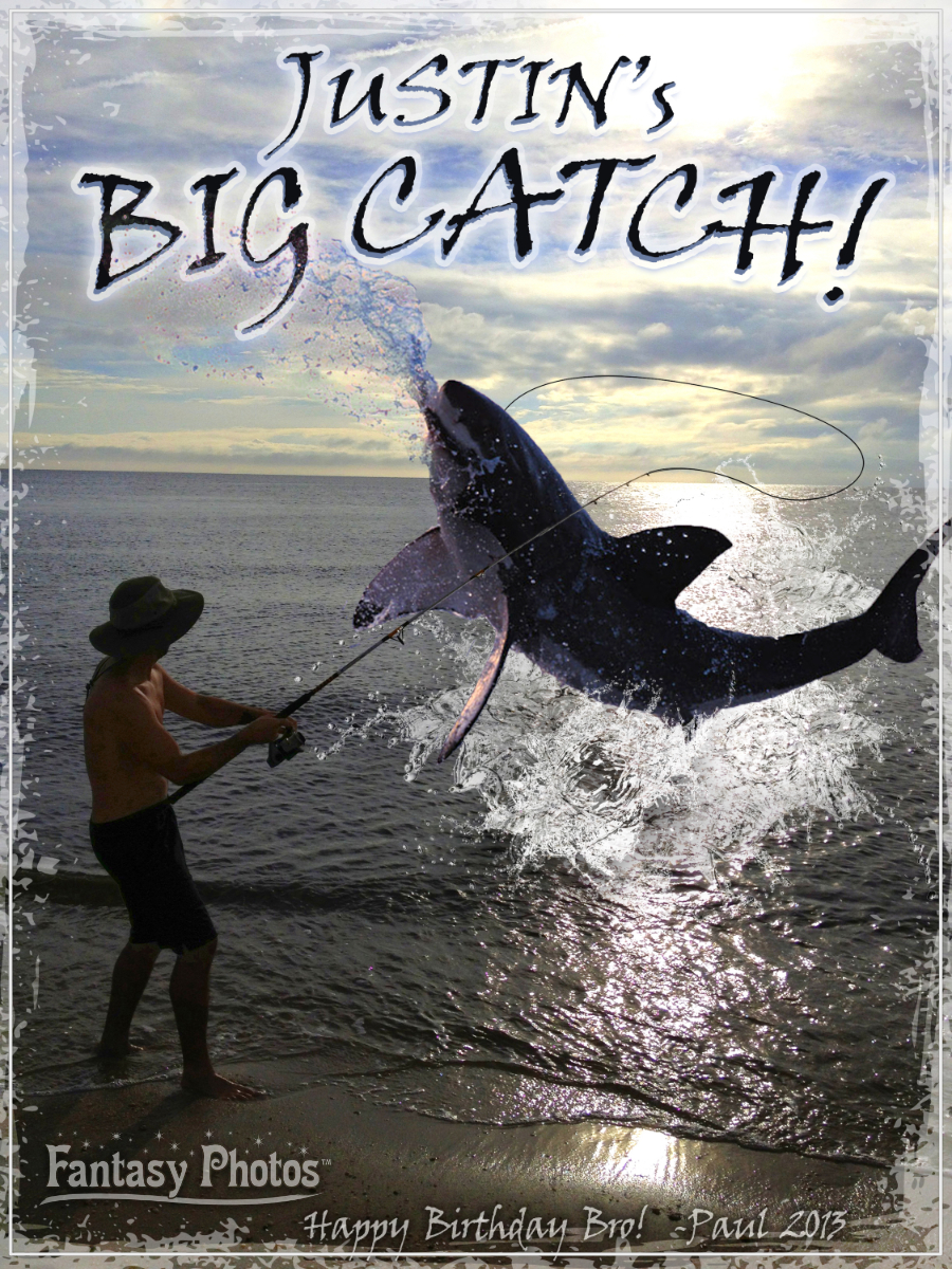 Fantasy Photos-Justin's Big Catch