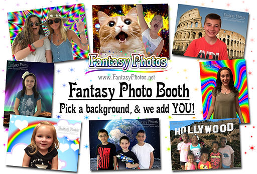 Fantasy Photos Booth Fun Event Activity