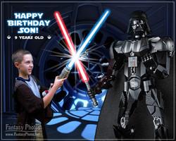 Fantasy Photos-Lego Vader