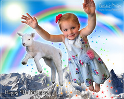 Fantasy Photos-Birthday-Flying-Lamb