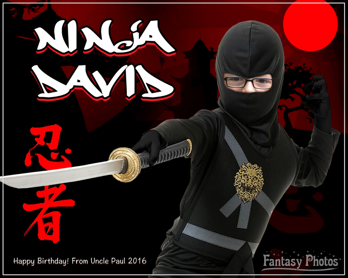 Fantasy Photos- Ninja David